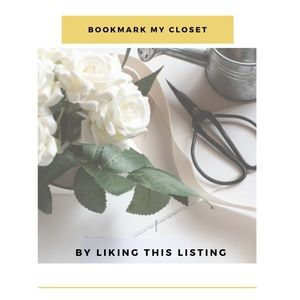 Accessories - Like this listing to bookmark my closet!